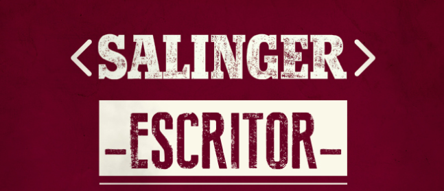 Salinger: 1 libro, 5 palabras