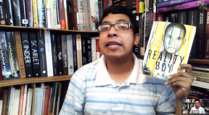 2 booktubers hablan de 'Reality Boy', de A. S. King